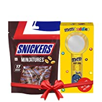 Snickers Miniatures, 170g Chocolate Gift Hamper