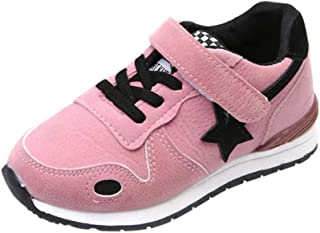 f3b1200aef495 Baby Shoes for 1-10 Years Old Kids,Boys Girls Children Fashion Lightweight  Star Mesh Sneakers Sport Running Shoes