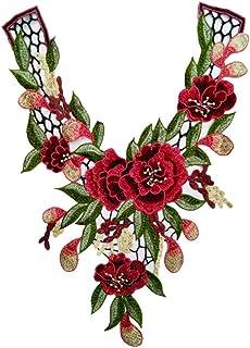 d6531f266b4 Oyfel Patch Ecusson Brodé Thermocollant Couture Main Coudre Art Lot Fleur  44cm 32cm