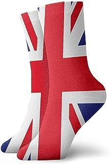 Calcetines unisex de la bandera de Inglaterra Medias deportivas cortas