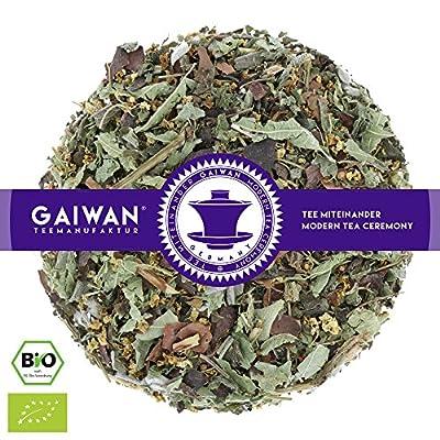 """N° 1210: Thé aux herbes bio""""Herbes des alpes"""" - feuilles de thé issu de l'agriculture biologique - GAIWAN GERMANY - sureau, mélisse citronnée, cacao, menthe poivrée, sauge, réglisse"""
