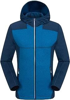 Men Autumn Winter Sport Outdoor Windbreaker Climbing Warm Soft Shell Jacket Coat