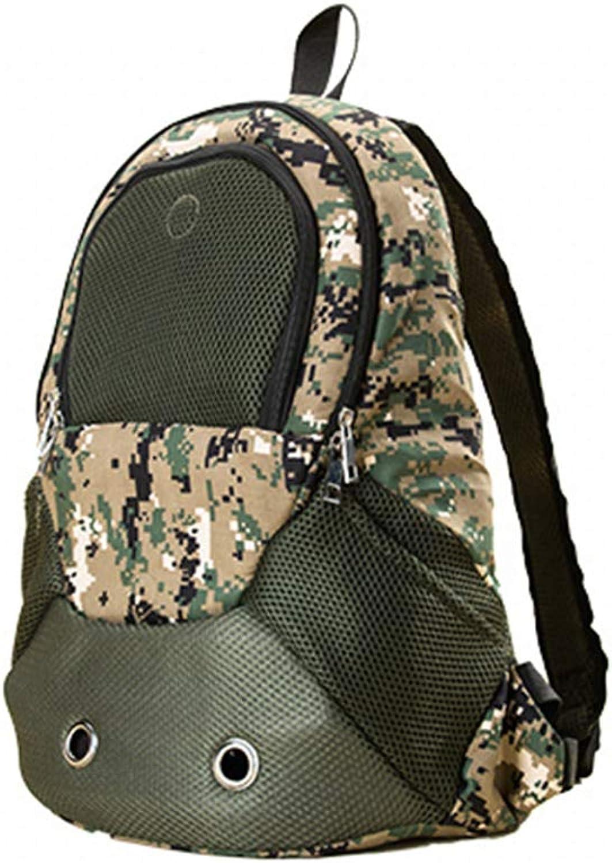 BOY Camouflage off road animal bag dello zaino dello zaino del cane sacco di gatto zaino di animali da compagnia fuori con borsa di viaggio 31 * 15 * 43cm