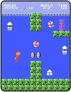 Fleece Throw Super Mario Brother Coral Standard