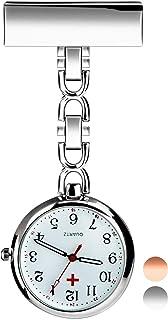 Reloj de Enfermera, Reloj de Bolsillo de Cuarzo con Broche