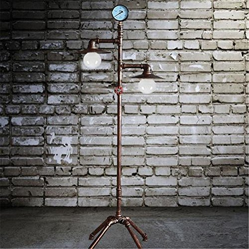 Edge to vloerlamp vloerlamp van industrieel aluminium van ijzer