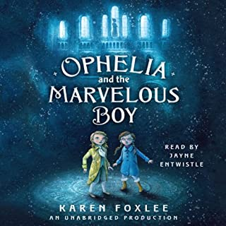 Ophelia and the Marvelous Boy audiobook cover art