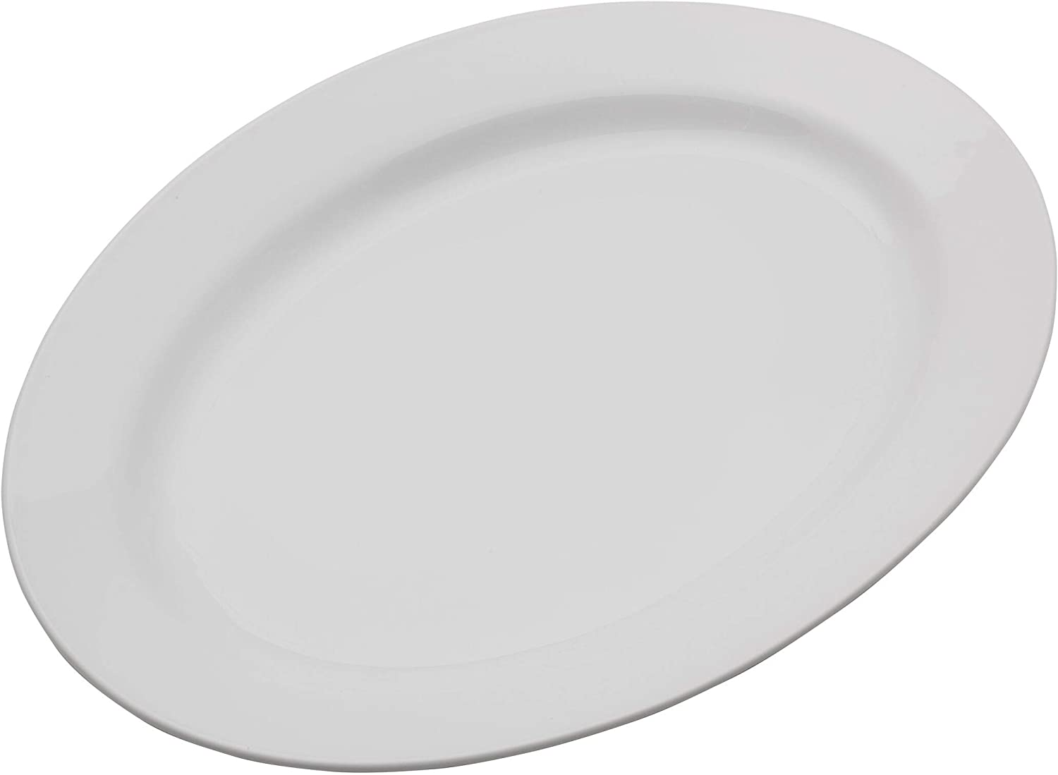 Everyday White by Fitz and Floyd Oval Platter Seasonal Wrap Introduction Serving 1 famous 16 inch