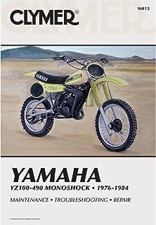 1976-1984 CLYMER YAMAHA YZ100-490 MONOSHOCK SERVICE MANUAL M413 FREE SHIP