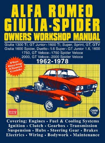 [SCHEMATICS_4UK]  Alfa Romeo Spider Owners Work Manual, Trade, Trade, eBook - Amazon.com | Alfa Romeo Spider Wiring Owners Manual |  | Amazon.com