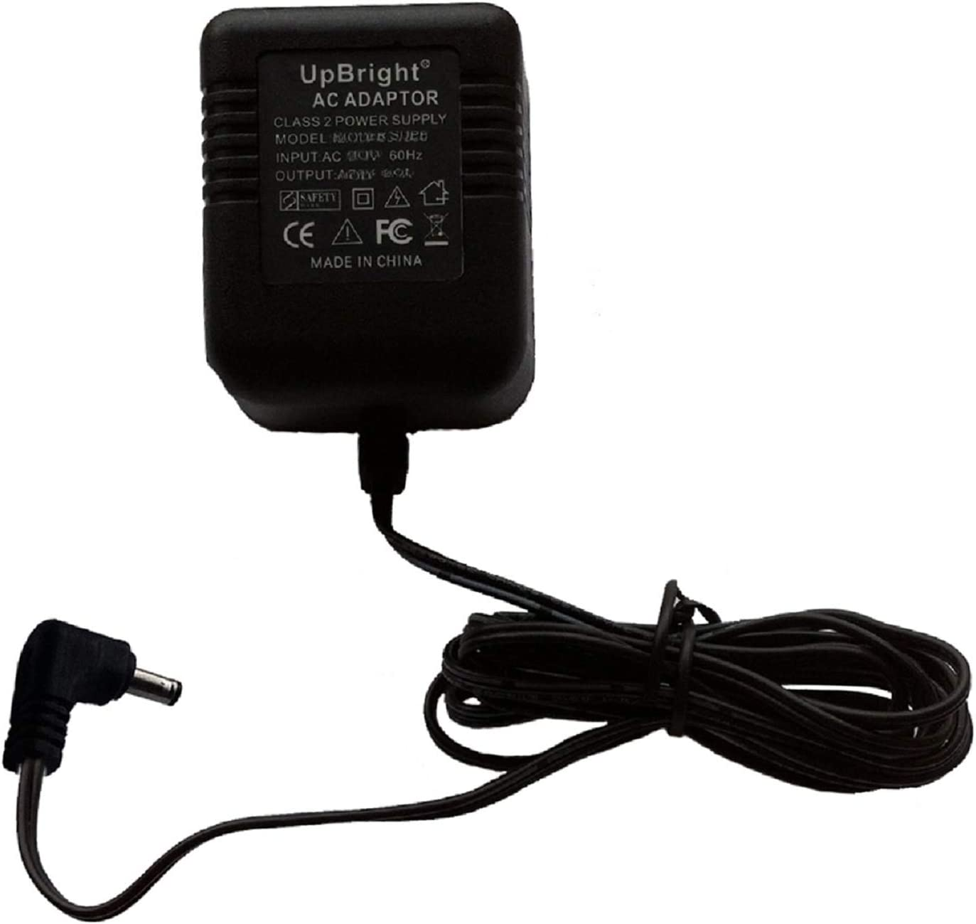 UpBright 7.5V AC/AC Adapter Replacement for Model U075035A12V 26-175035-1UL-100 AT&T Uniden Vtech CA Cyber Acoustics U075035A12 AC7.5V 350mA 7.5VAC 0.35A -1A Class 2 Power Supply Battery Charger PSU