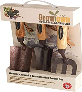 Spear & Jackson ELEMENTS3PS 3-Piece Elements Grow Your Own Gift Set