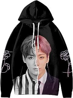 NBBZ Kpop BTS Map of The Soul Persona Unisex Hoodie 3D Digital Printing Sweatshirt