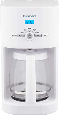 Cuisinart DCC-1120 12-Cup Classic Programmable Coffeemaker, white