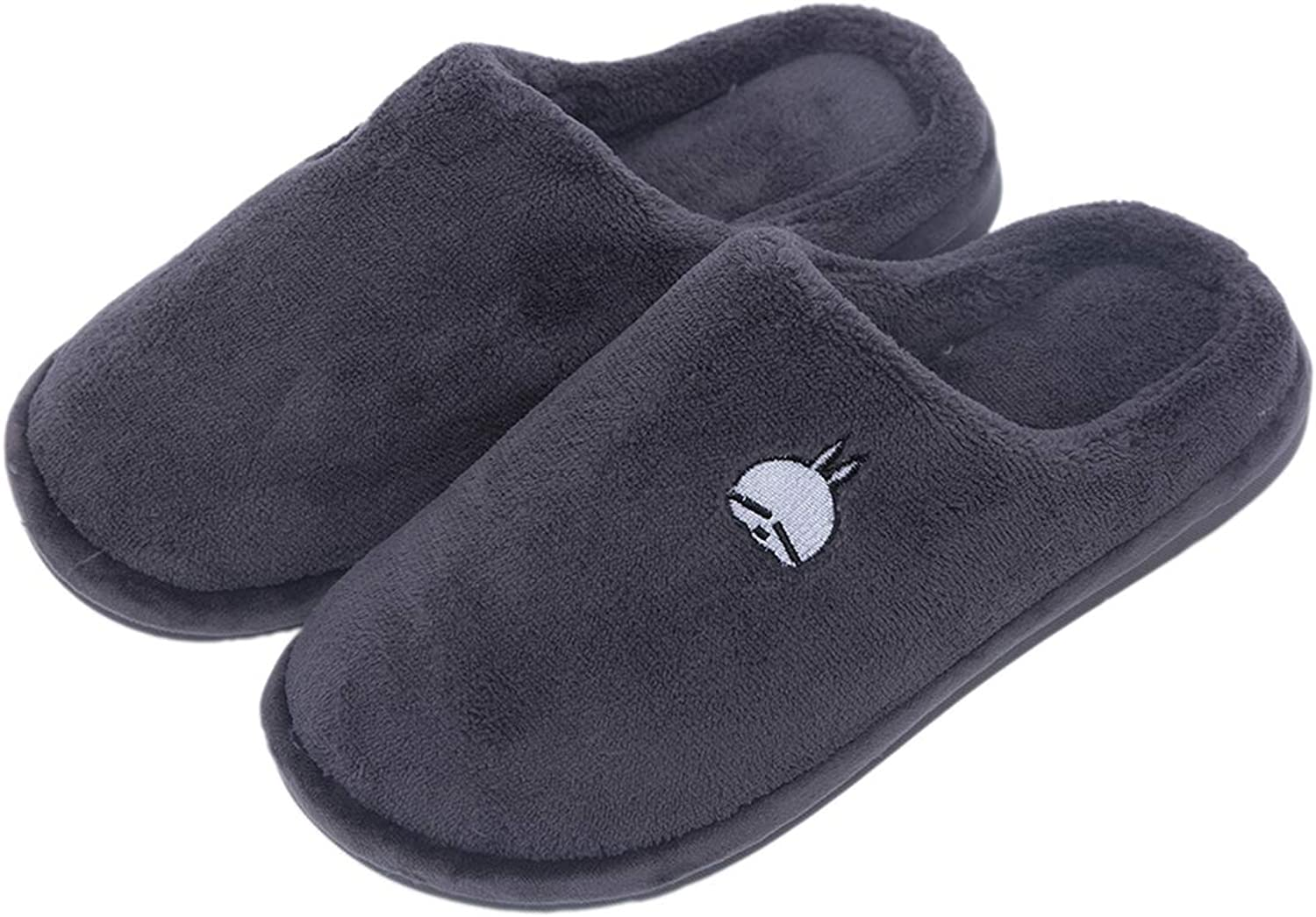 Asche Women's Soft Memory Foam Slippers Indoor&Outdoor House shoes Fluffy Faux Fur Slippers