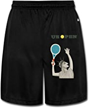 KOKOROITAI Men's Us Open Tennis Logo Performance Shorts Sweatpants