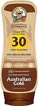 Australian Gold - protección solar con SPF 30 Bronceado 237 ml