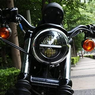 Manillar de 25 mm Universal para Harley Sportster XL 883 1200 Dyna Bobber Custom Chopper Softail Euro Style AnXin