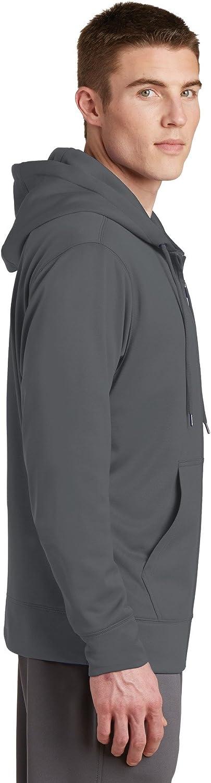 SPORT-TEK Sport-Wick Fleece Full-Zip Hooded Jacket F20