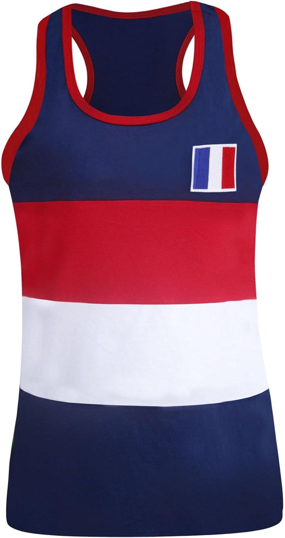 Camiseta sin Mangas Mujer Francia