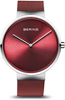 BERING Unisex Analogue Quartz Watch with Stainless Steel Strap 14539-303