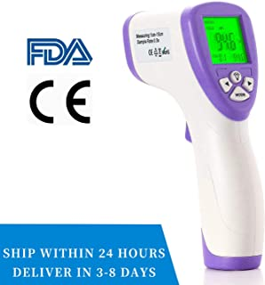 Body Digital Thermometer Infrared Thermometer for Adult Children Forehead Thermometer Infrared Temperature Gun (Three Modes)- CE & FDA Approved