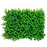 TTIK Siepe Sintetica Sempreverde Decorazioni della pianta da Parete, 10Pcs Siepe Artificiale 40 × 60CM,B