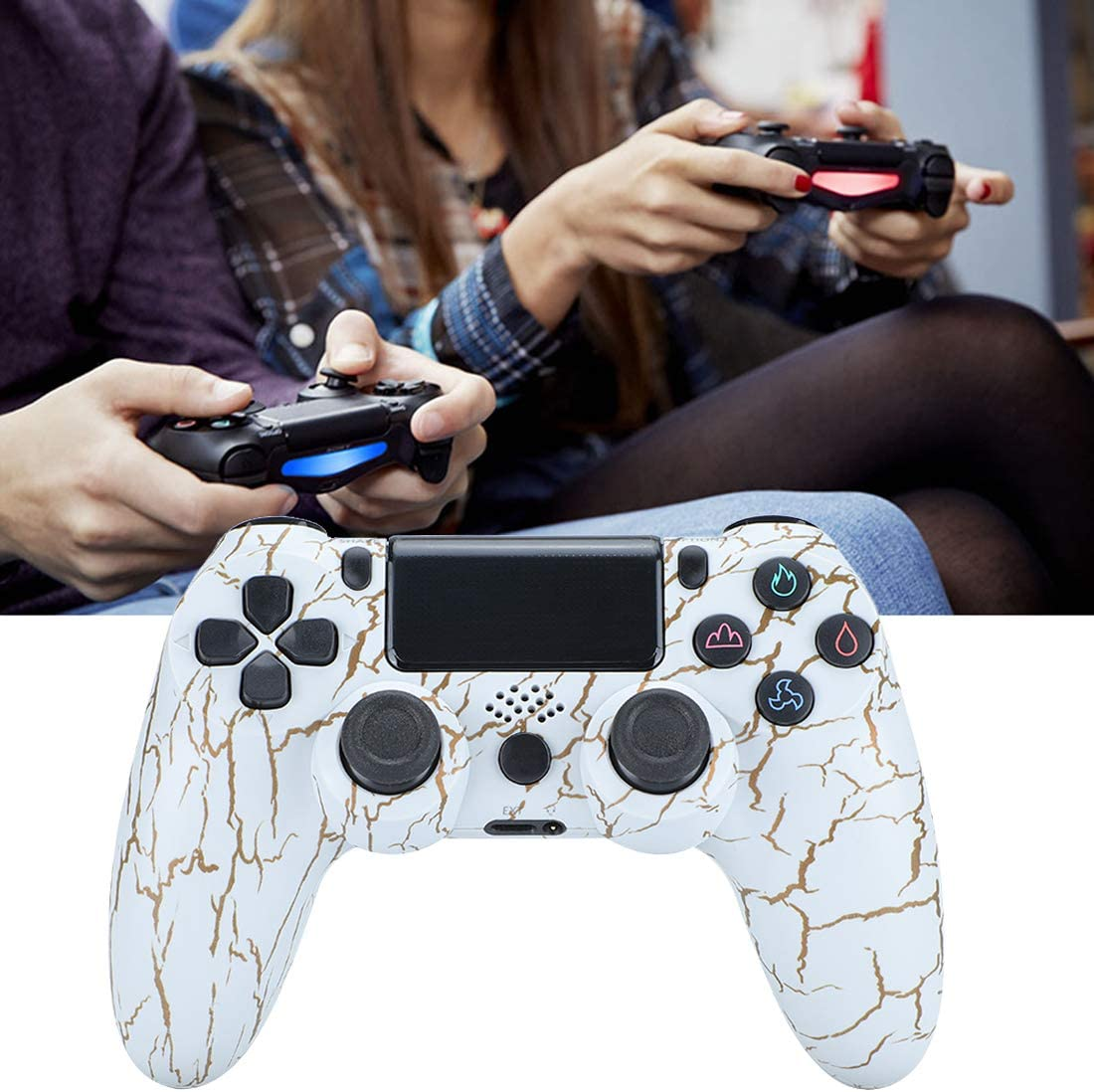 PlayStation 3 Accessories PS4 Controller Wireless Remote ...