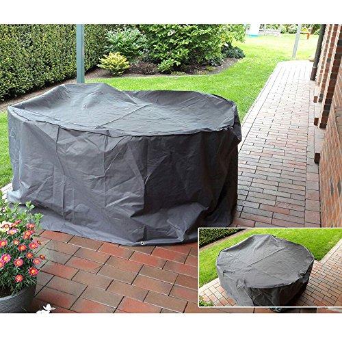 Harms Housse de bâche de Couverture de Table d'empilage de Jardin Couvrant Capot étanche 504723