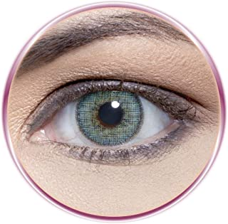 Solotica SOLFLEX Cosmetic Contact Lenses Monthly Disposable - Topazio