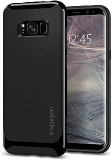 Capa para Galaxy S8 Neo Hybrid, Spigen, Capa Dupla Proteção Anti-Impacto, Shiny Black