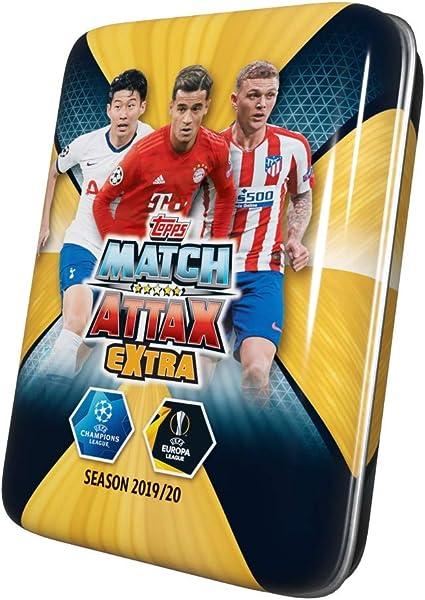Topps Champions League 2020//21 1 Mini Tin Box Trading Cards