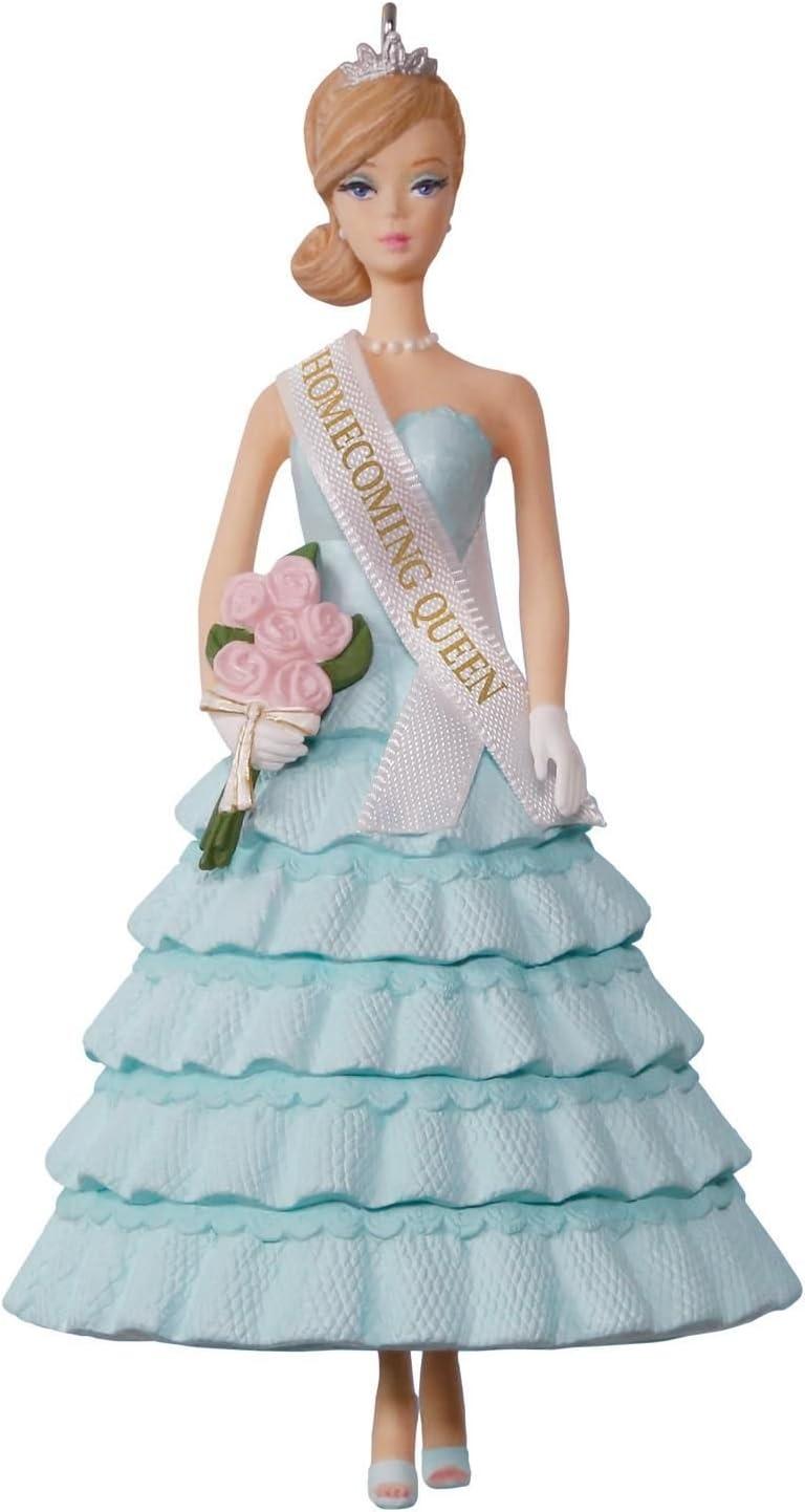 Hallmark Keepsake 2017 Barbie Homecoming Queen Christmas Ornament