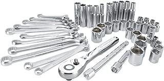CRAFTSMAN Mechanics Tool Set, SAE / Metric, Soft Storage, 47-Piece (CMMT12019)