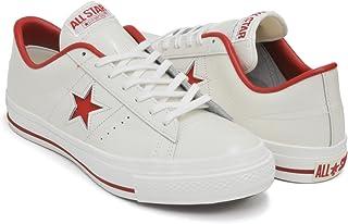 [コンバース] ONE STAR J [ワンスター メイド イン ジャパン 日本製] WHITE/RED 32346512