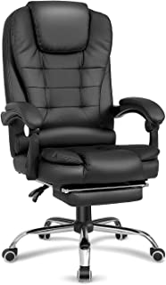 Sponsored Ad - Kealive High Back Executive Ergonomic Office Chair, PU Leather Reclining Chair with Retractable Footrest fo...