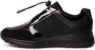 Geox Womens Adult ALLENIEE 3 Black Sneakers