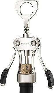 Wing Corkscrew, Zinc Alloy Premium Wine Cork Opener with Multifunctional Bottles Opener, Upgrade