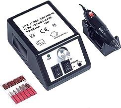 MAYCREATE® Professional 20000RPM Electric Nail Art Drill Machine for Acrylic Gels, Manicure Pedicure Grinding Drill,Black, EU Plug