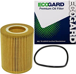 ECOGARD X5692 Premium Cartridge Engine Oil Filter for Conventional Oil Fits Land Rover LR2 3.2L 2008-2012   Volvo XC90 3.2...