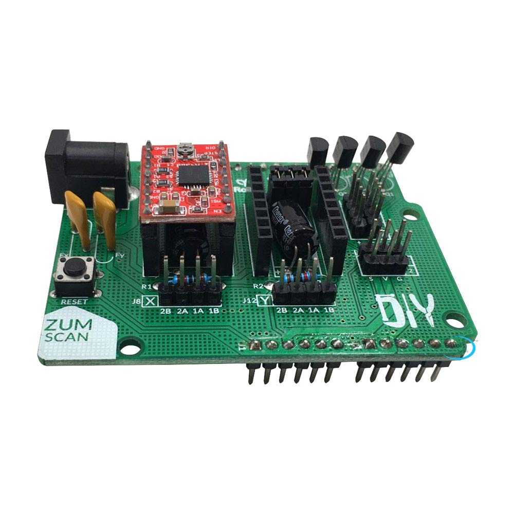 Zamtac Ciclop 3D Scanner Board Ciclop Expansion Board Zum Driver Board DIY with A4988 Accessory Ciclop 3D Scanner Motherboard - (Size: Option 1)