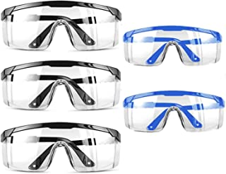 Safety Glasses Eyewear Protective Safety Goggles with Universal Fit and Clear View,Anti-fog Anti-Scratch and Impact Resist...