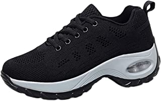 OrchidAmor Women's Big Girls Leisure Mesh Beathing Increased Thick Bottom Athletic Sneakers Shoes 2019 Summer