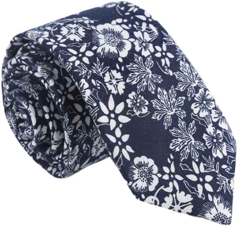 Wukong Direct Men Cotton Neckties Skinny Necktie Daily/Party/Wedding/Business Neckties 6cm