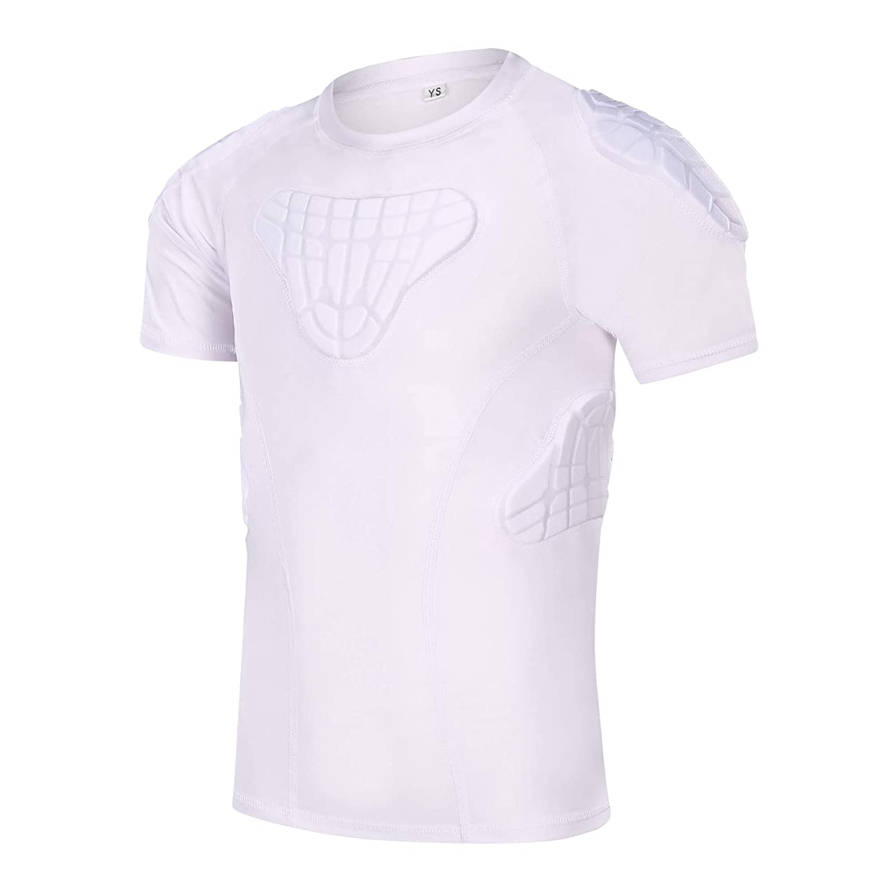DGXINJUN Padded Compression Shirt Chest Protector Parkour Extreme Exercise Suit for Boys laffiymhyhp69
