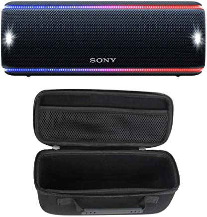 Sony SRS-XB31 Portable Bluetooth Speaker (Black) with...