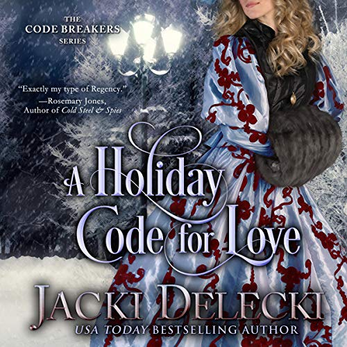 A Holiday Code for Love Audiobook By Jacki Delecki cover art