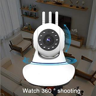 Inalámbrico De Cámaras De Seguridad La Cámara IP 1080P HD WiFi Inicio Cámara De Interior para El Bebé/Animal/Niñera Detección De Movimiento Telecámara HD Rotazione Un Gradi 360