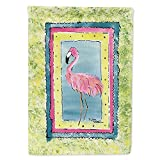 Caroline's Treasures 8107CHF Bird - Flamingo Flag Canvas House Size, Large, Multicolor