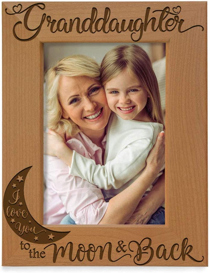 Max 56% OFF KATE POSH Granddaughter I Love Ranking TOP14 You The Back Engraved Moon and to